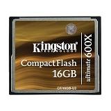KINGSTON CF Ultimate 16GB [CF/16GB-U3] - CompactFlash / CF Card